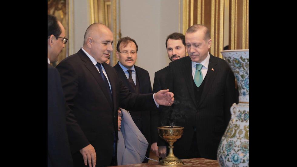 Борисов се срещна с Ердоган