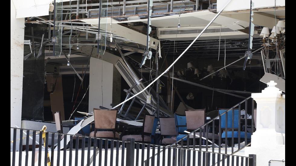 Осем взрива разтърсиха Шри Ланка