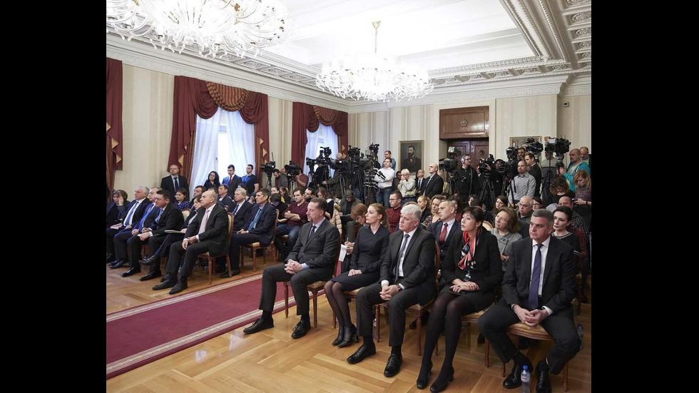 Президентът отчете една година на власт