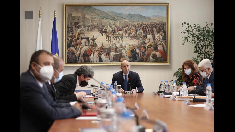 Консултации при президента за състава на ЦИК