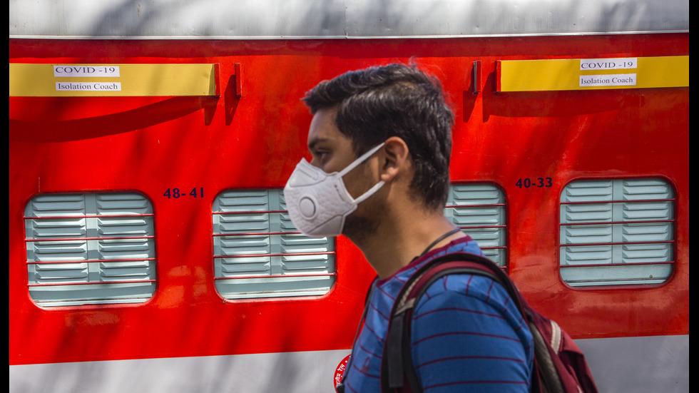 20 000 вагона в Индия стават карантинни центрове
