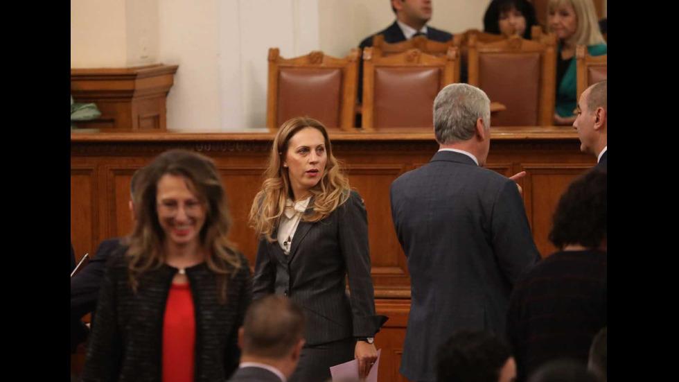 Парламентът гласува кандидатурата на Марияна Николова за вицепремиер