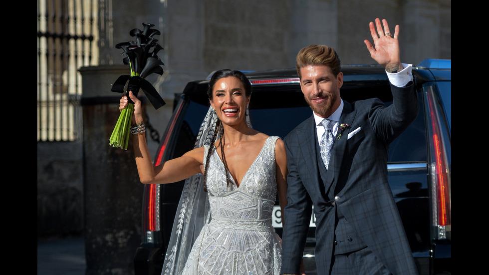 Сватбата на Серхио Рамос и Пилар Рубио