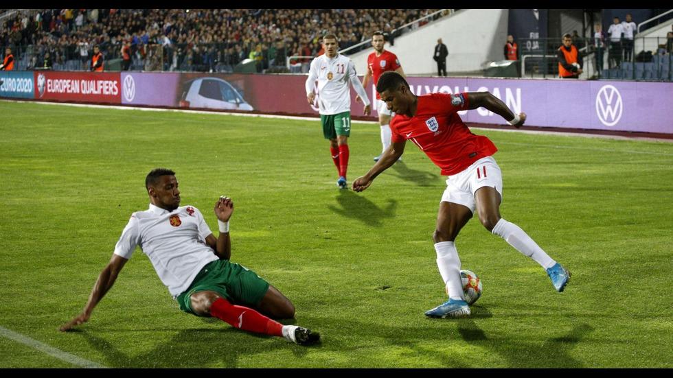 Срещата България-Англия