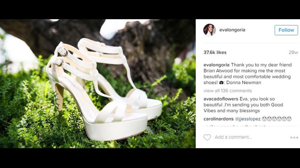 Ева Лонгория - най-красивата булка през 2016 г.