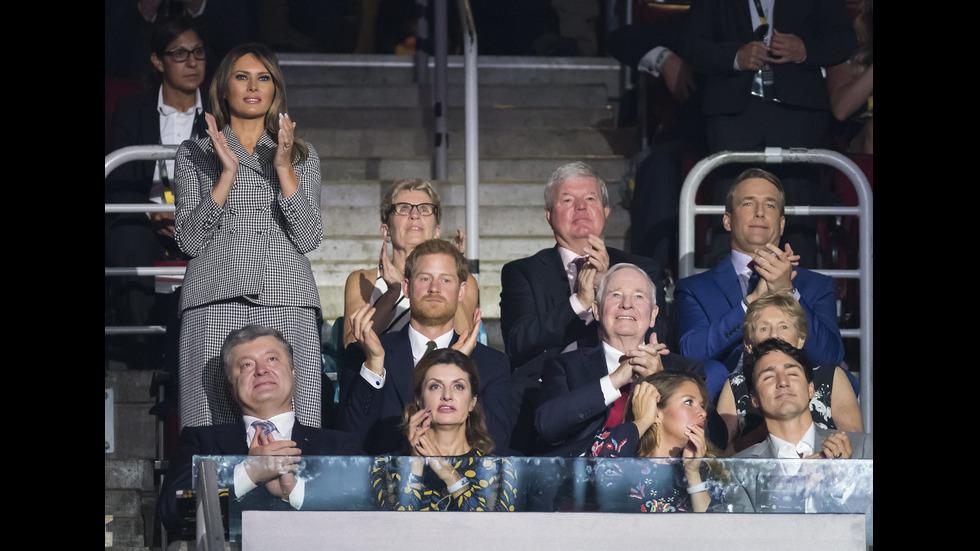 Принц Хари взе Мегън Маркъл на обществен ангажимент