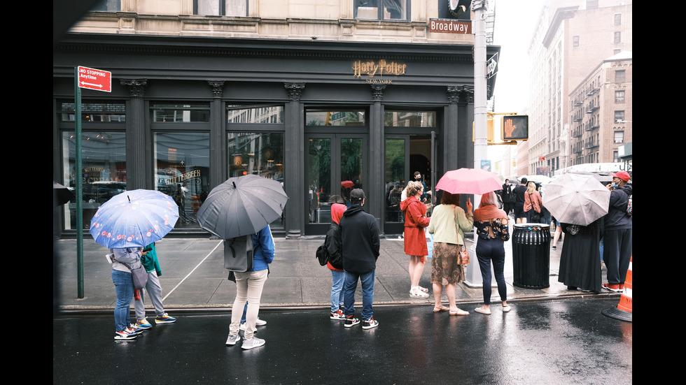 Най-големият в света магазин, посветен на Хари Потър, отвори врати