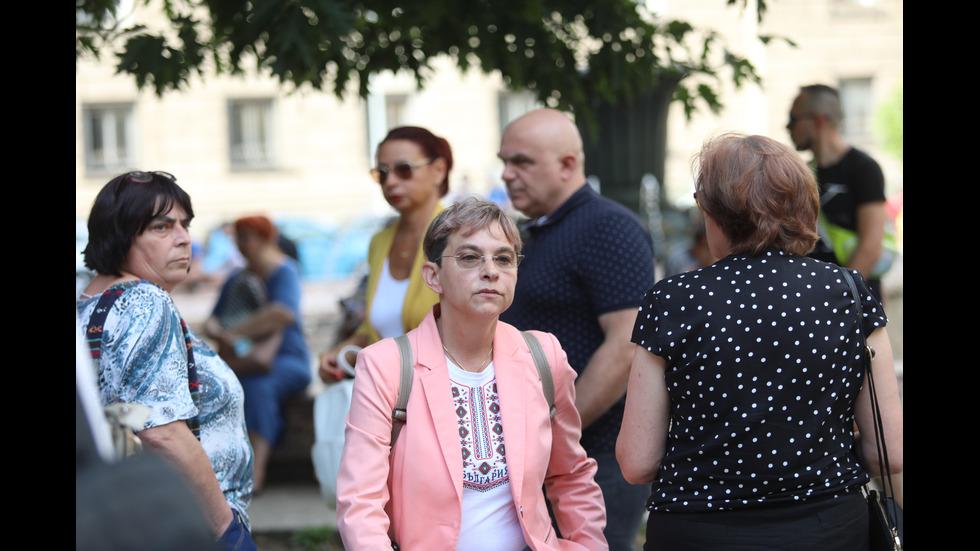 """Медиците от """"Пирогов"""" отново на протест въпреки постигнатия компромис"""