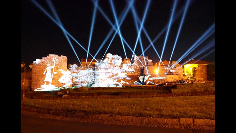 Несебър ще впечатлява туристи със светлинно шоу през лятото (СНИМКИ)