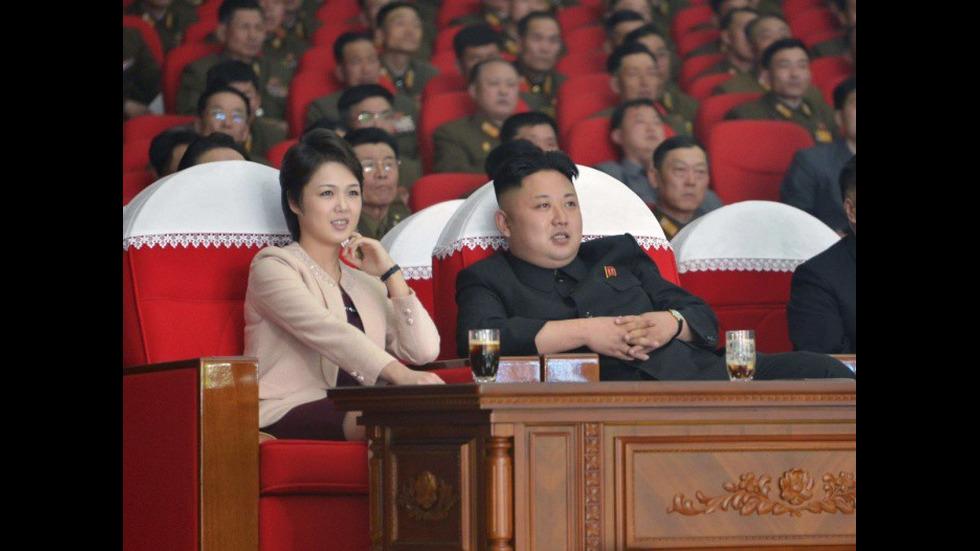Първата дама на Северна Корея