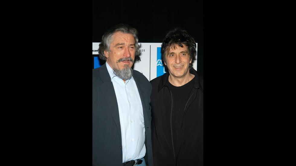Робърт Де Ниро и Ал Пачино – 50-годишно приятелство между титани