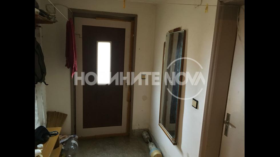 Къщата, в която се е самонастанил Росен Ангелов в село Луково