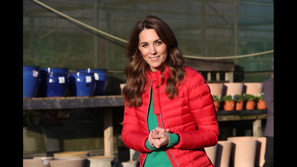Кейт Мидълтън с български чорапи на събитие
