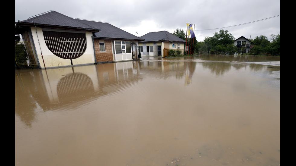 Проливен дъжд предизвика тежки наводнения в Босна