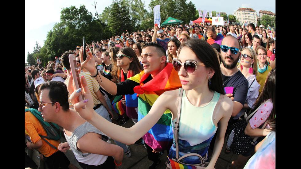 """""""София прайд"""" - шествието на хората с различна сексуалност"""