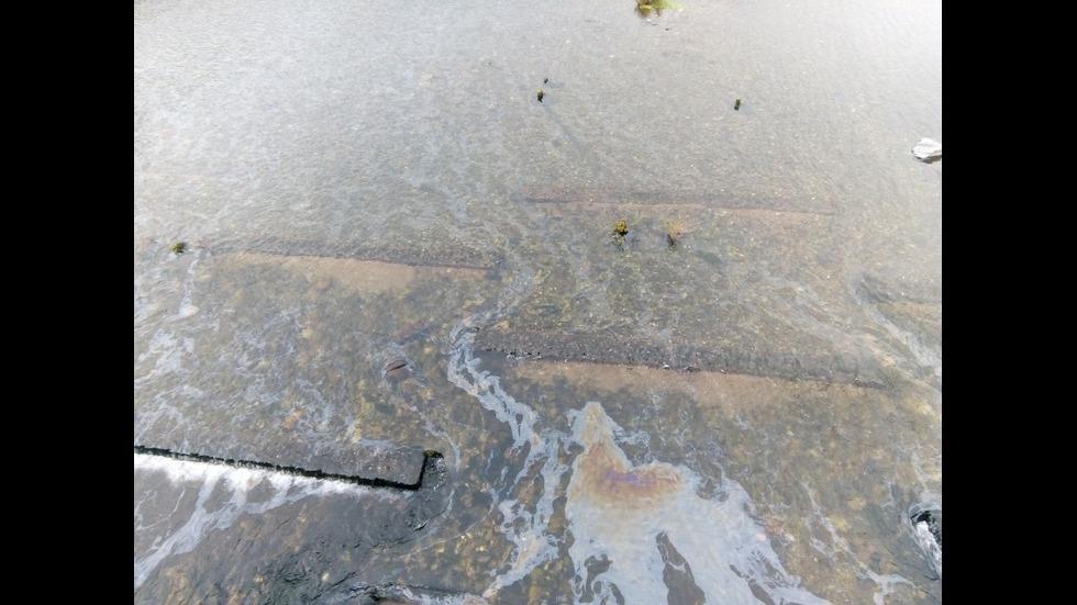 Замърсяване на река Въча