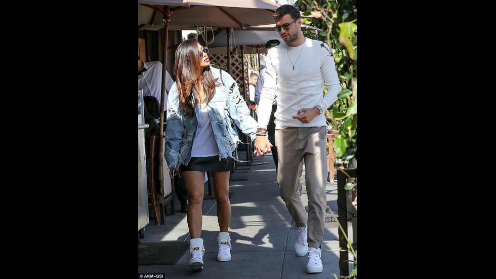 Гришо и Никол - заедно в Лос Анджелис