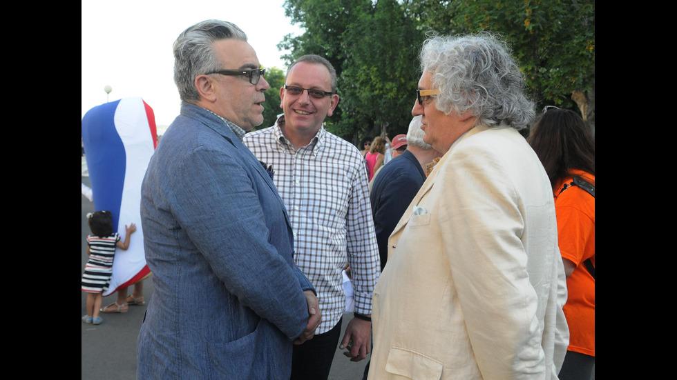 Историкът и бивш министър на културата Петър Стоянович през годините