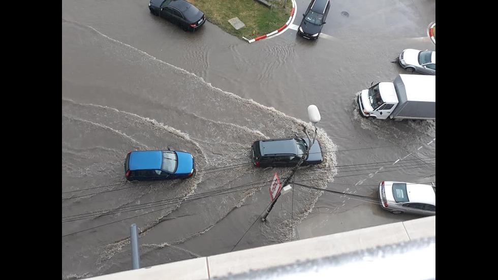 Мощна буря и порой в Гоцеделчевско