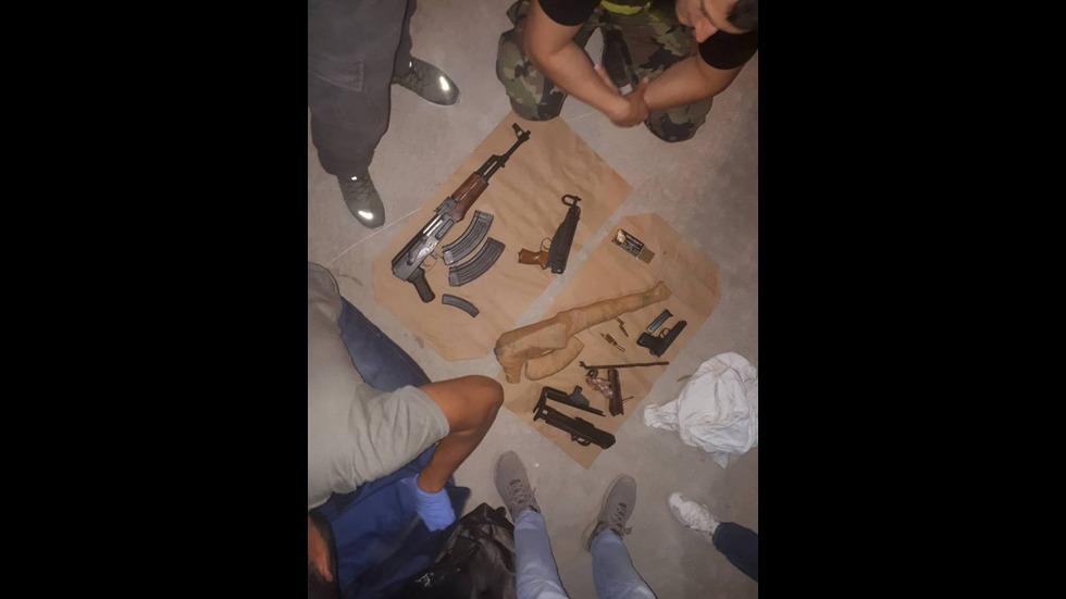 Разкриха склад със 100 кг дрога и автомати, използван от групата на Радо Ланеца