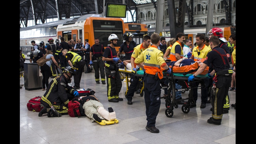 Влакова катастрофа в Барселона