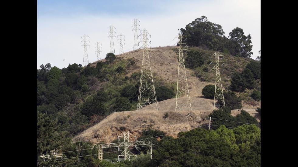 СРЕЩУ ГОРСКИТЕ ПОЖАРИ: Спират тока за няколко дни в Северна Калифорния
