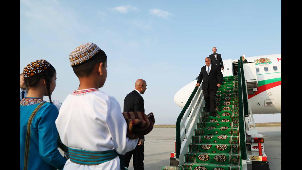Бойко Борисов на посещение в Туркменистан