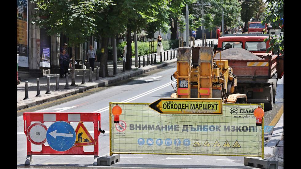 """Продължава ремонтът на улица """"Г.С.Раковски"""""""