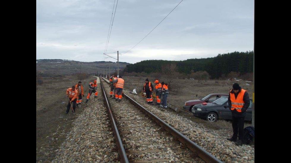 СЛЕД РЕПОРТАЖ НА NOVA: Започна спешен ремонт на жп линията Перник - Радомир