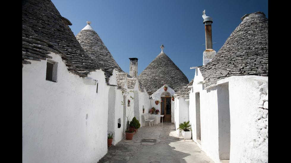 Алберобело - градът с къщички като от приказките