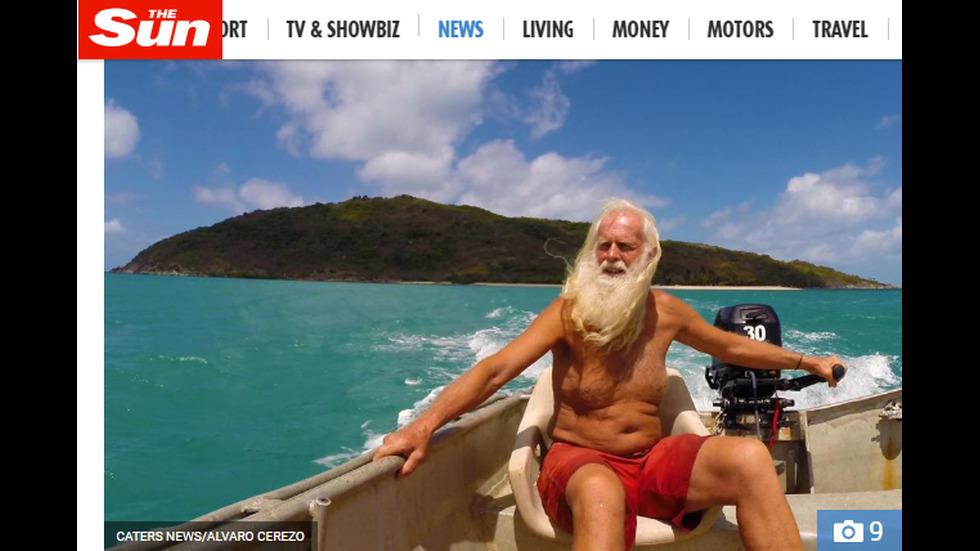 Милионер живя 20 години на самотен остров, след го разориха