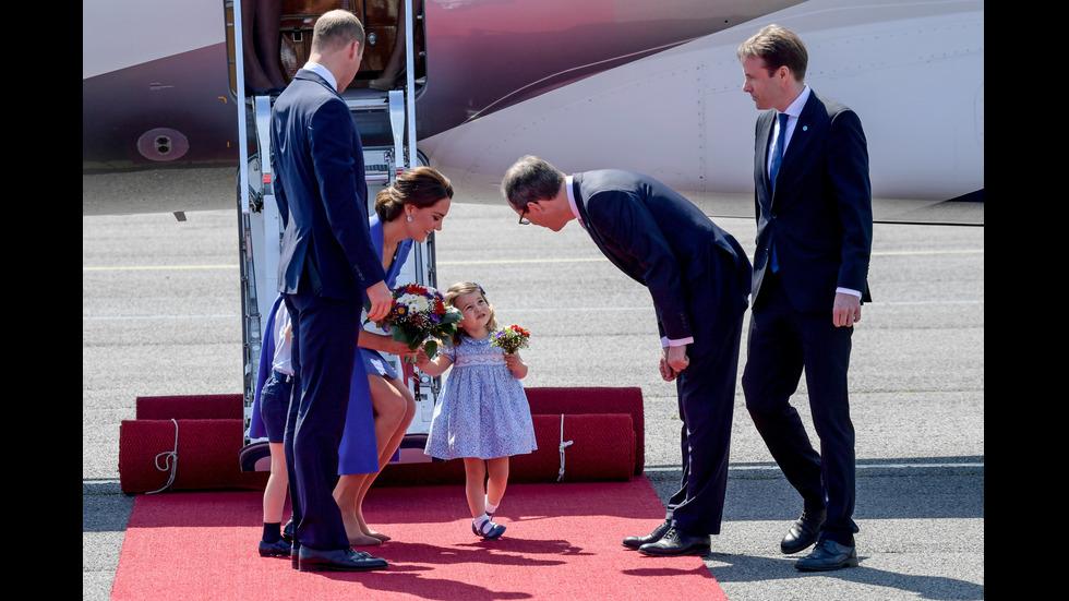 Принц Уилям и семейството му в Германия