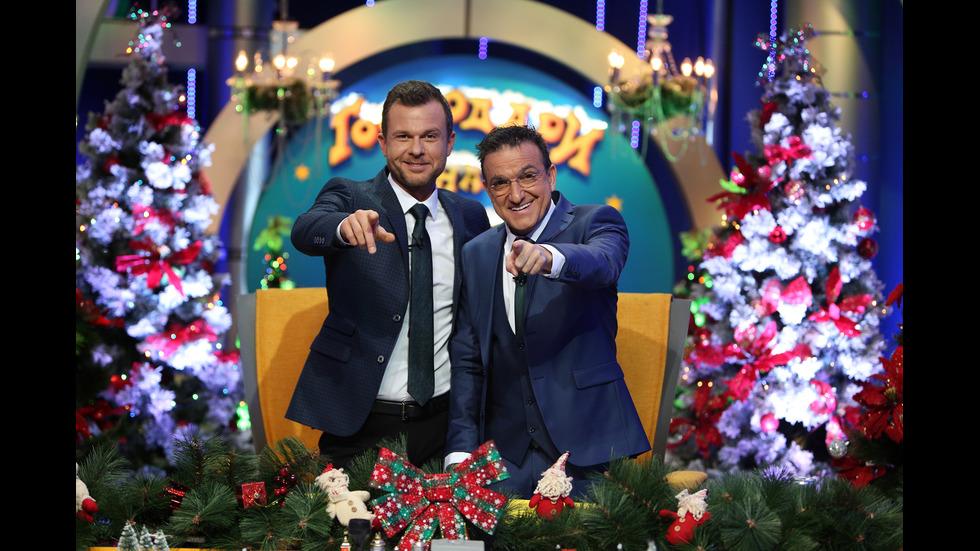 """Ненчо Балабанов и Васил Василев - Зуека - водещи на """"Господари на ефира"""""""