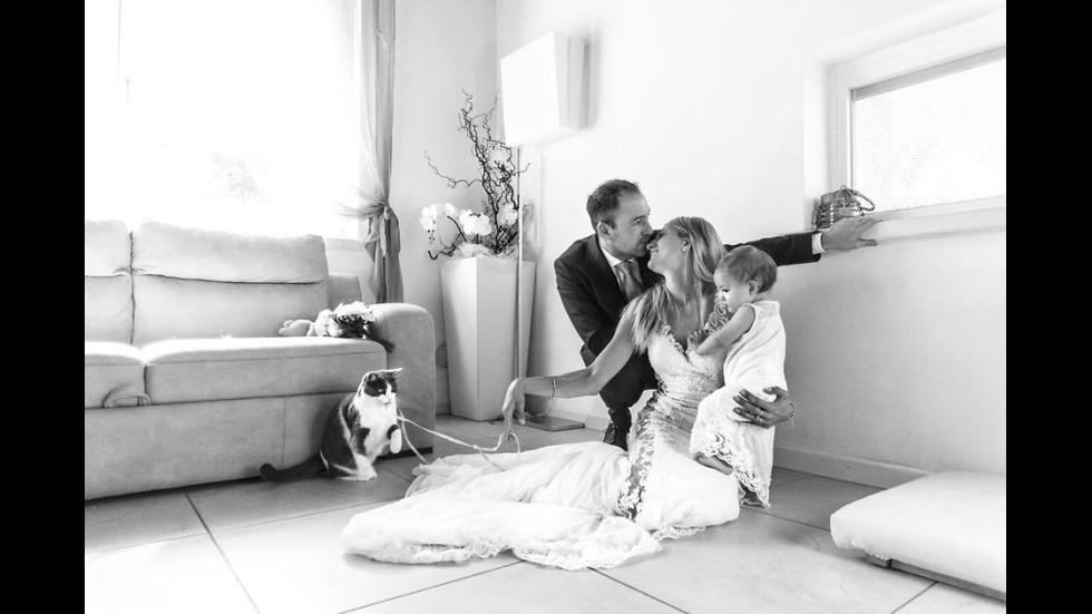 Двойки, споделили сватбения си ден с домашните си любимци
