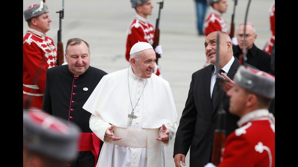 Визитата на папата у нас