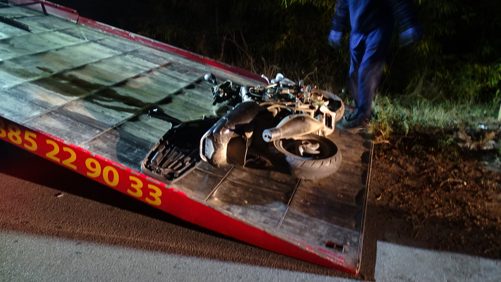 19-годишен моторист загина край Симитли