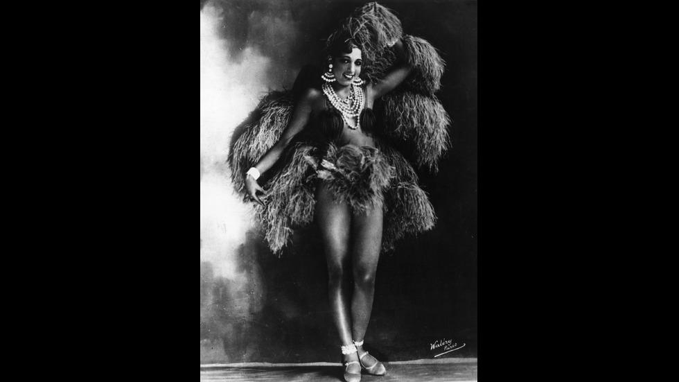 Aмериканско-френската танцьорка и певица Джозефин Бейкър
