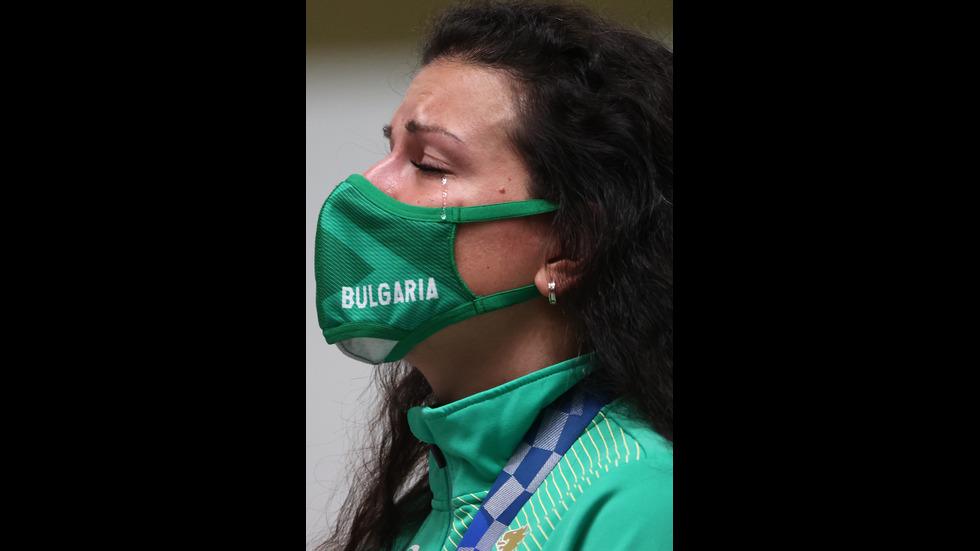 Антоанета Костадинова спечели сребърен медал на Олимпиадата в Токио (СНИМКИ)