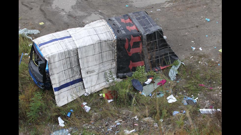 Трагедията край Своге в снимки през обектива на NOVA