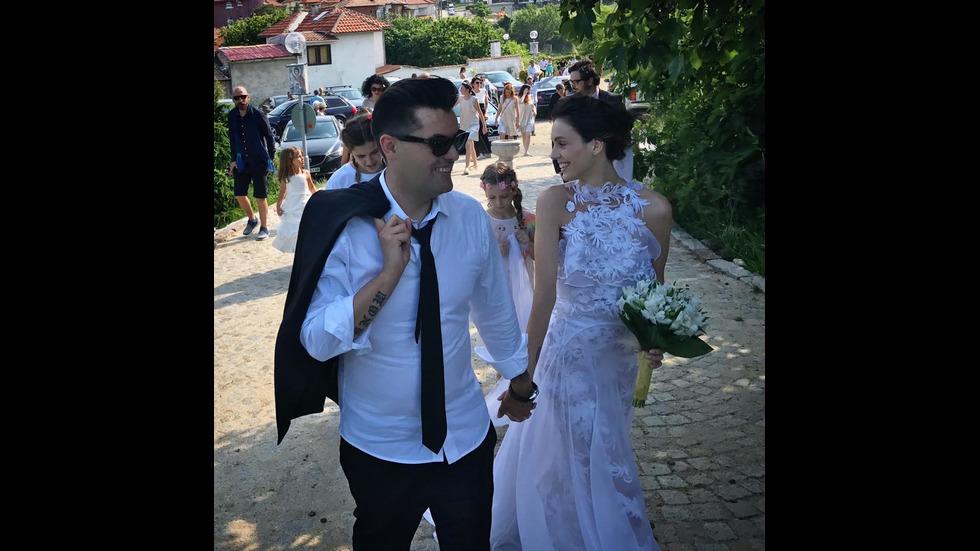 Младото семейство Луиза Григорова и Мартин Макариев