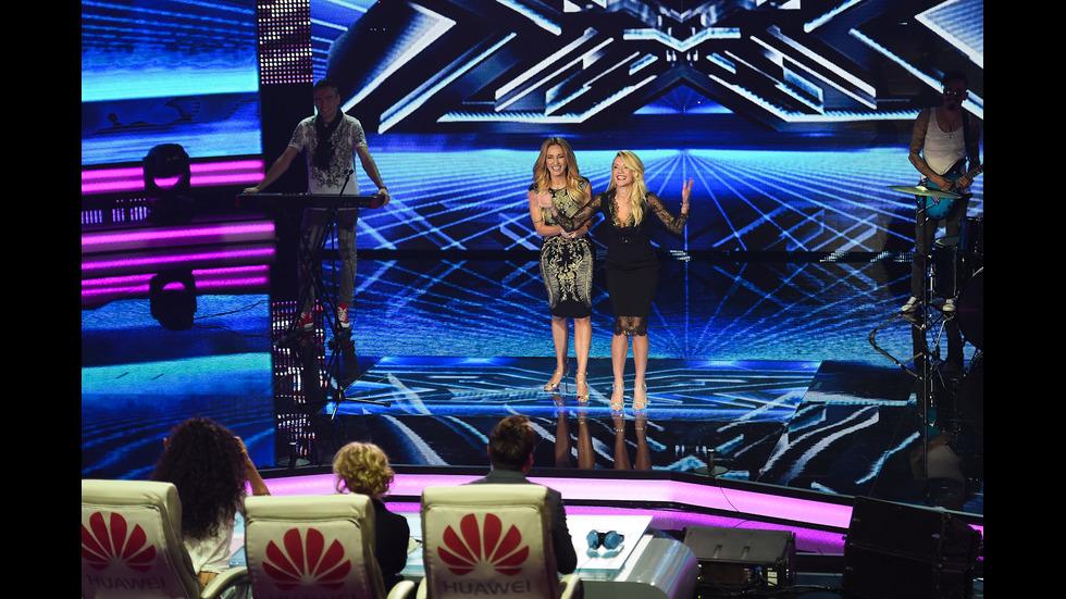 Парти нощ на шестия лайв концерт в X Factor
