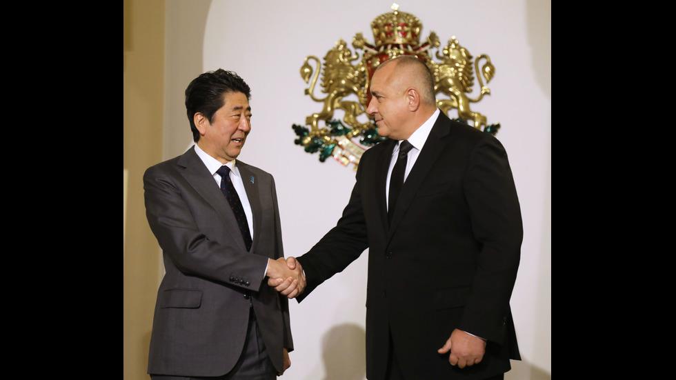 За първи път японски премиер на визита у нас