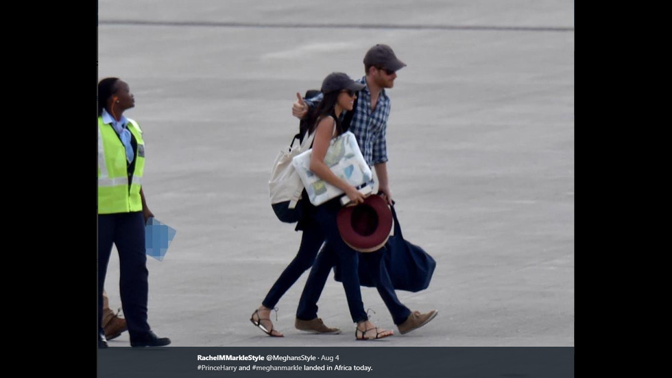 Принц Хари отведе Меган Маркъл на пътешествие в Африка