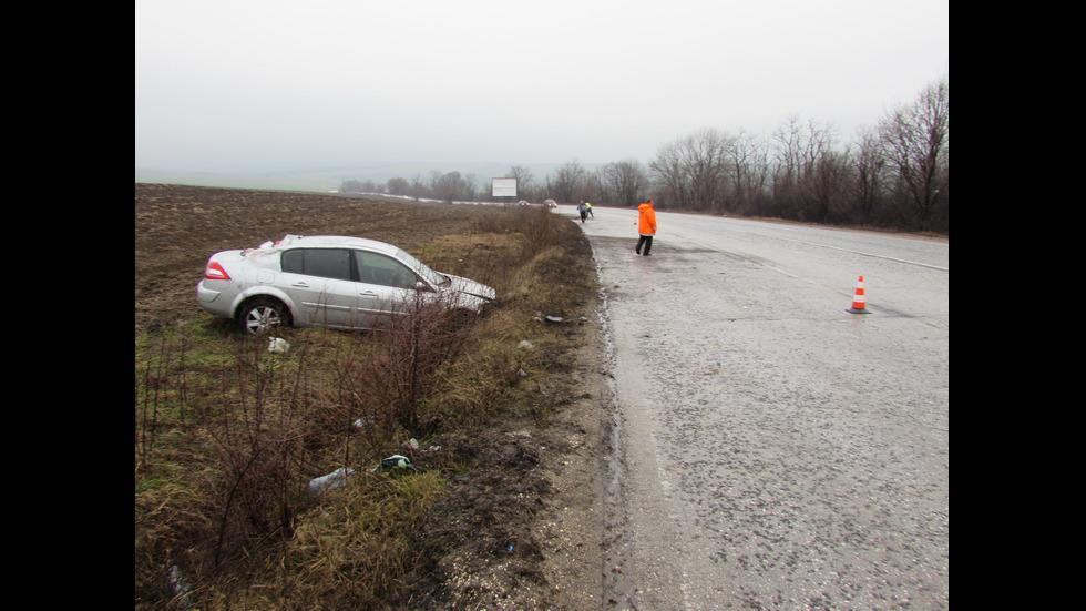 Семейство от Русе катастрофира на пътя Русе-Бяла