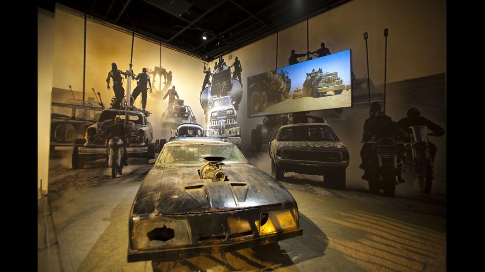 Музей представи култови автомобили от филми