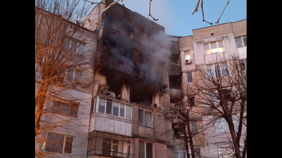 Взрив разтърси жилищен блок във Варна