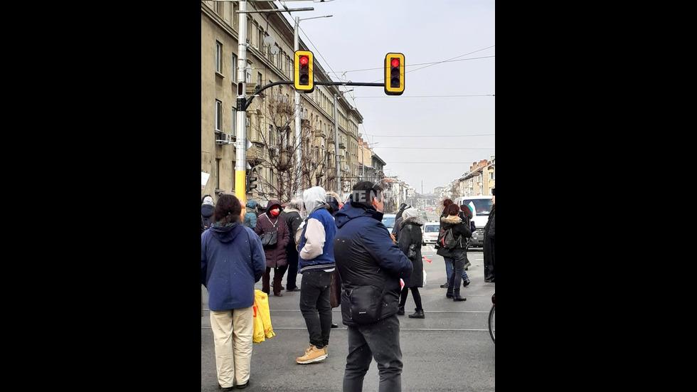 Протест в центъра на София