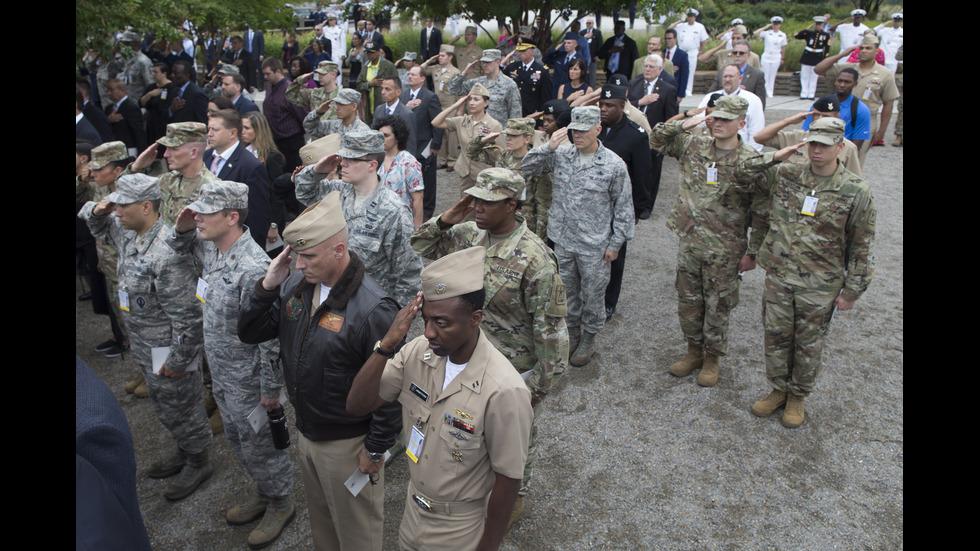 Възпоменателни събития в памет на загиналите при нападенията от 11 септември в САЩ