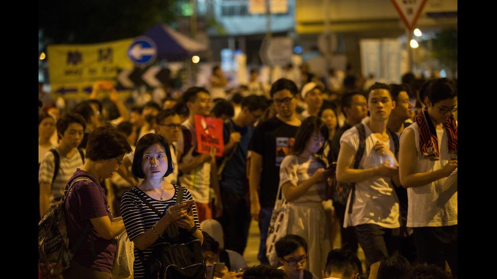 Стотици хиляди протестираха в Хонконг