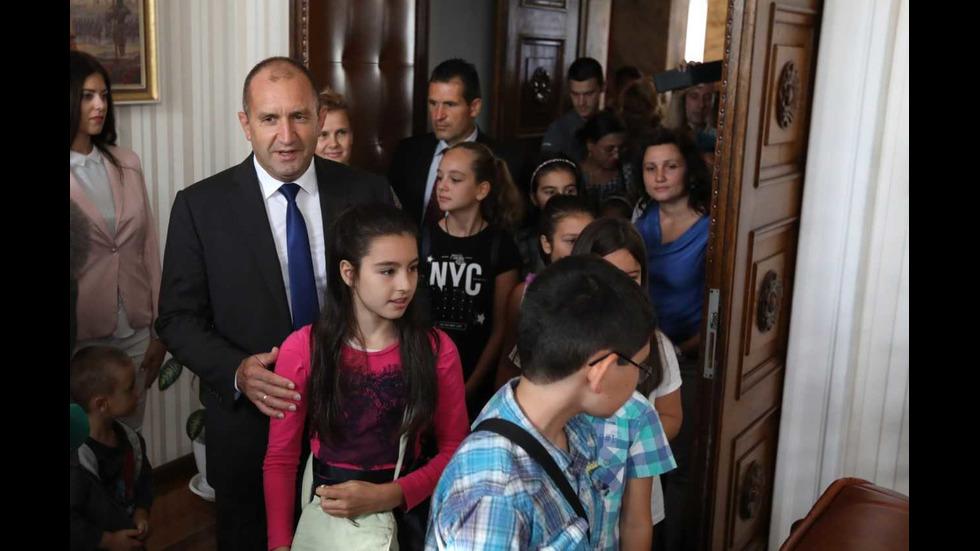 Ден на отворените врати в президентството